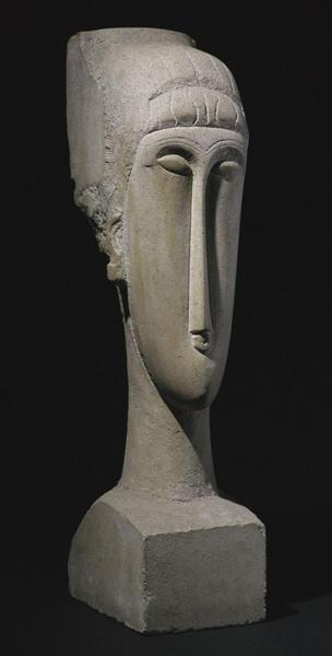 莫迪利亚尼的雕塑作品