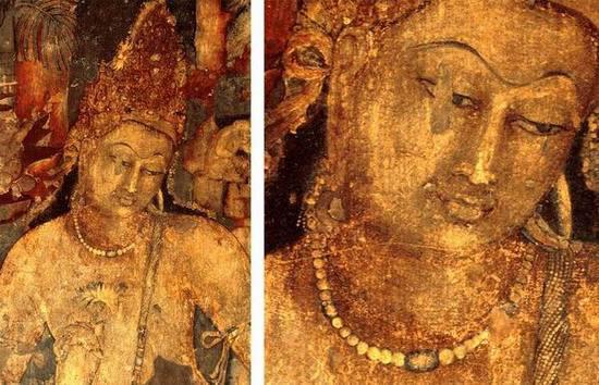 来自阿旃陀的观世音菩萨画像