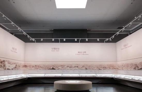 新升级改造后的良渚博物院展厅