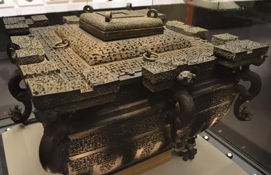 国家博物馆战国青铜冰鉴