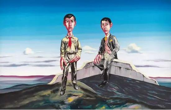 佳士得香港——曾梵志《我们》 估价:2400万—3200万港币