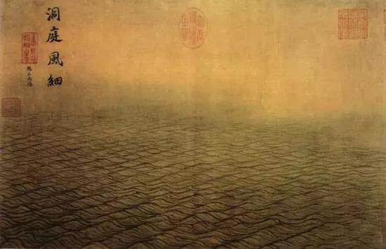 《水图》(局部) 宋 马远 绢本设色 北京故宫博物院藏