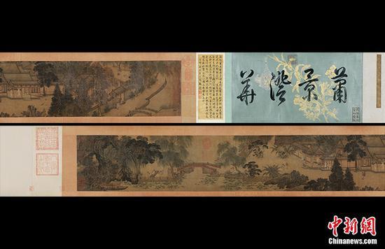 南宋画家所作《汉宫秋图》拍出1.242亿元人民币为本季春拍古代书画最高价