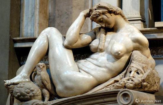 米开朗基罗的《夜》是马蒂斯的灵感来源