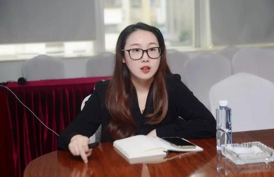 深圳文化产权交易所 文化金融中心副总经理 冯煜婷