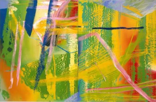 ▲ 格哈德·里希特,《丁香》,1982年