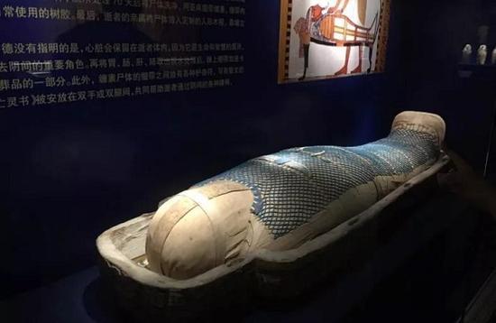 距今三千年的《Padiamenemope木乃伊》