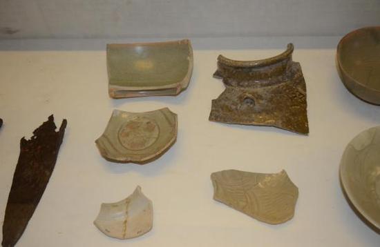 斯里兰卡国家博物馆展厅宋元瓷器