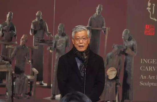 中国汉画协会会长陈履生开幕致辞