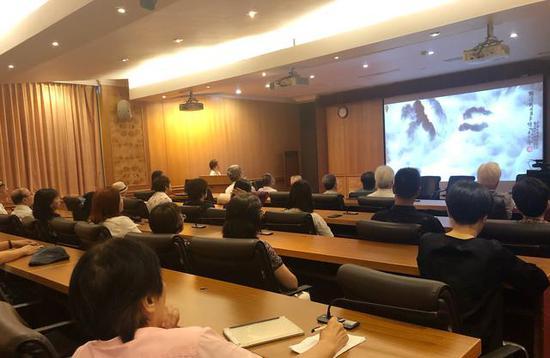《积墨山水的传承与创新》座谈会在国父纪念馆举行