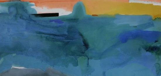 海伦?弗兰肯塔勒,《纽芬兰岛》,1975年作,估价1,500,000–2,000,000美元