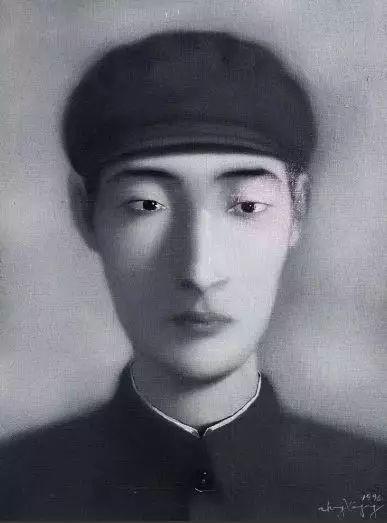 刘小东《孙子》,估价60—90万港币,成交价75万港币。