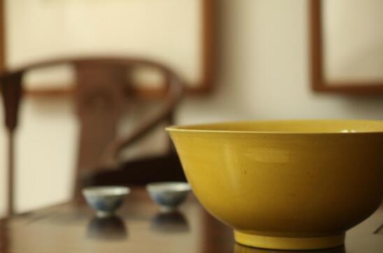 复烧黄釉瓷 调配颜色 是第一个拦路虎