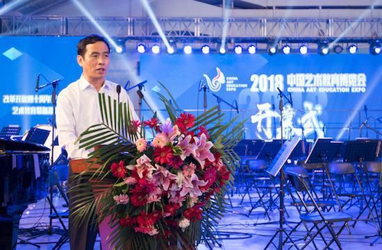 中国国际展览中心集团总裁贺彩龙致辞