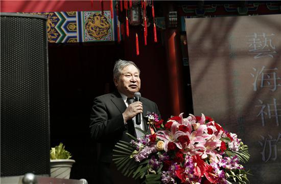 李可染画院院长、李可染之子李庚先生讲话