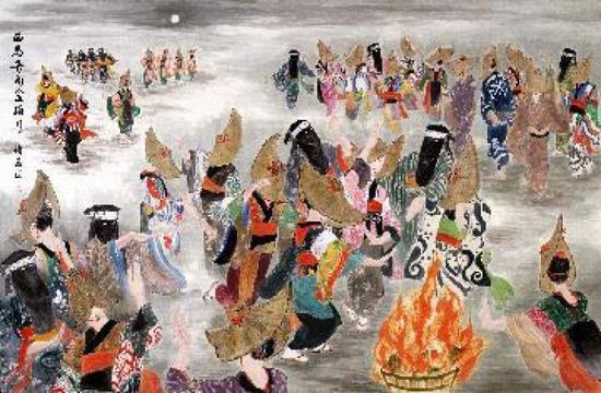 ■《西马音内盂兰盆舞》