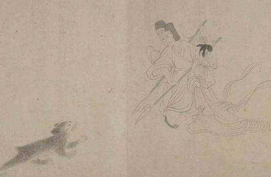 《女史箴图》局部 宋代摹本 故宫博物院藏