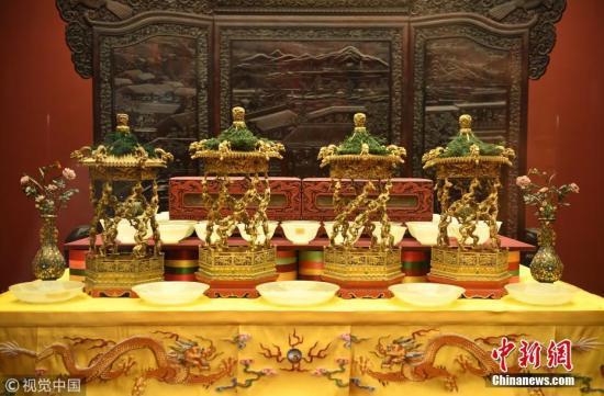 资料图:故宫文物(图文无关)。王晓溪 摄 图片来源:视觉中国