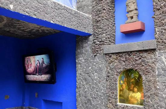 這座藍房子 記錄了弗里達人生的三場災難