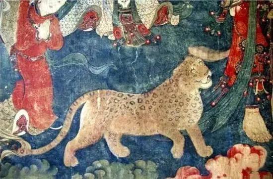 壁画中的动物