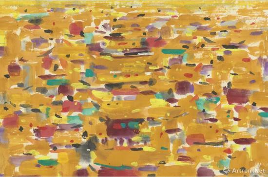 《紫禁城》 45x48cm 2006年 纸本
