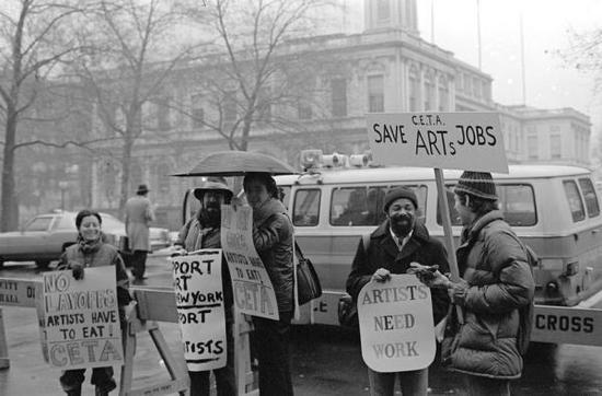 美国如何拯救艺术行业?