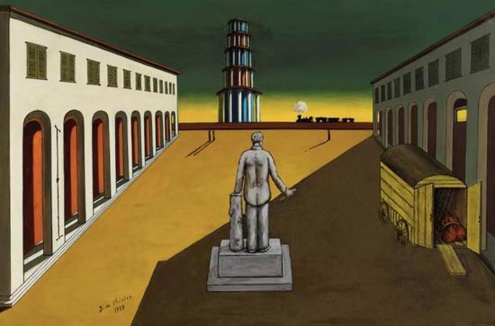 乔治·德·基里科(意大利,1888-1978)