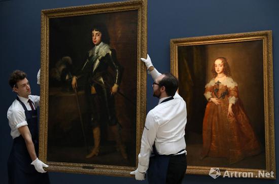 安东尼·凡·戴克爵士的两幅肖像同时上拍