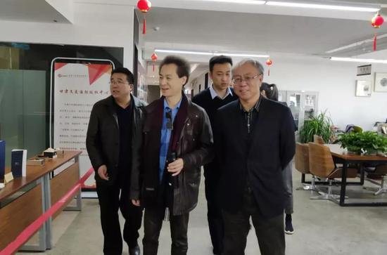 中国京剧名家李军先生到甘肃文交中心考察交流
