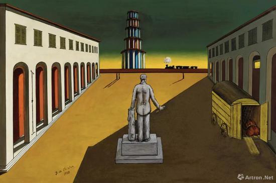 拍品编号317 乔治·德·基里科(意大利,1888-1978)