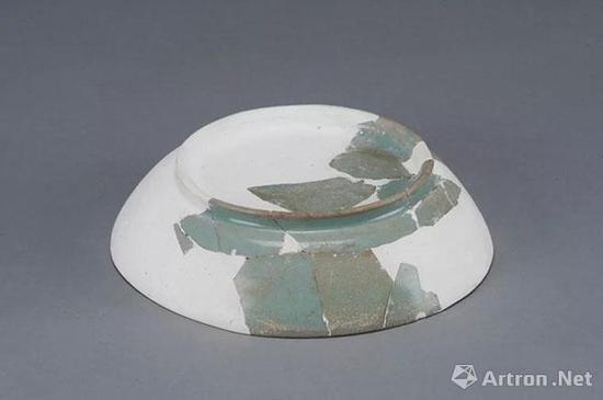北宋 鲁山段店窑天青汝釉圈足洗 河南省考古研究院藏