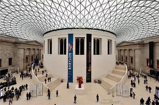 大英博物馆 题图来源:uniqueway