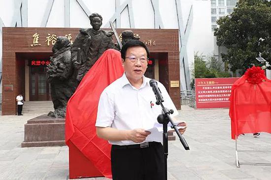 民盟中央副主席张平致辞