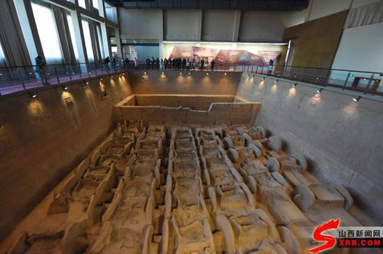 目前中国发现西周时期最大的车马坑