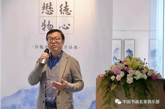 德懋堂董事长卢强博士致辞