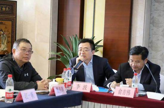 上海金币投资有限公司董事长、委员李波先生发言
