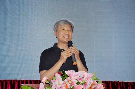 中国书协分党组书记陈洪武致辞: