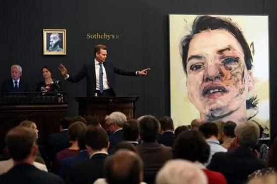 培根自画像以1650万英镑夺魁