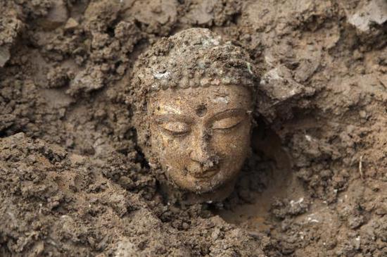 邺城遗址考古发掘现场