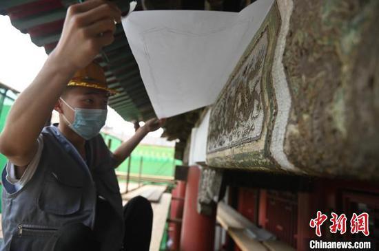 沈阳故宫古建筑油饰彩画是怎样被保护修复