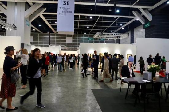 2018年Art Basel展览现场