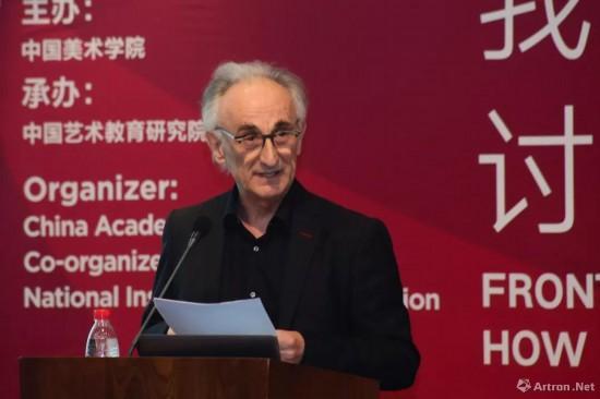 苏黎世艺术大学教授贾可·西赛尔演讲《无条件的艺术大学》