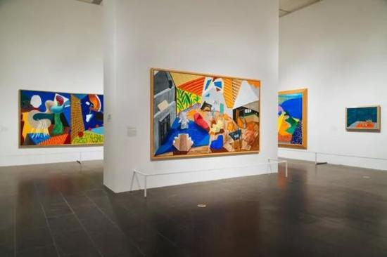 大卫·霍克尼2018年大都会博物馆展览现场 ?Charlie Rubin for The New York Times