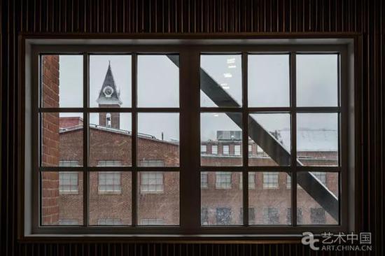 从6号楼窗口俯瞰北亚当斯