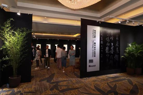陈丹青首次将书帖写生与书法创作并置展出