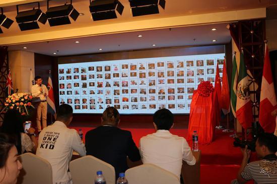 全球领袖联盟中国秘书处 执行秘书长 卢伟先生讲解全球领袖联盟相关业务