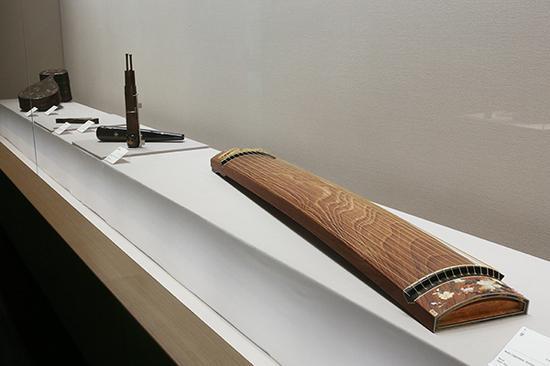 展出的莳绘乐器?Internet Museum