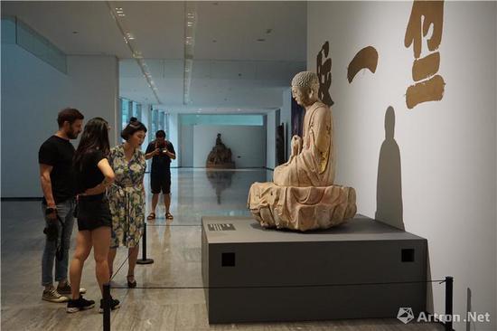 回向:大足石刻图像与历史文献展 (摄影:白川)
