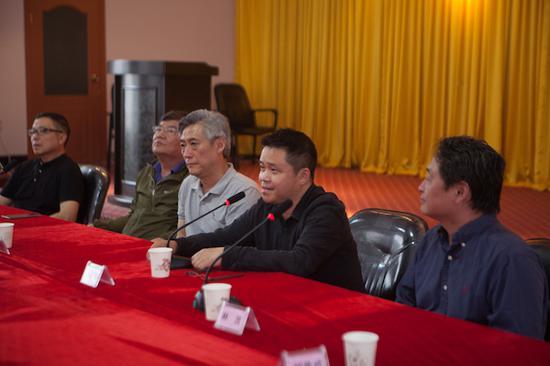 四川美术学院院长庞茂琨先生致辞