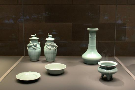 大英博物馆中的龙泉青瓷